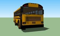 school bus 3d model