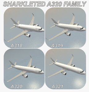 max sharkleted airbus a320 family