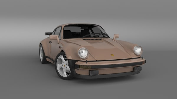 3d model car rendered