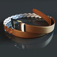 belt 3d model