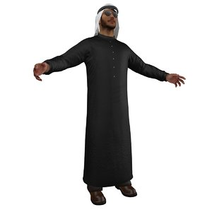 Arab man B3
