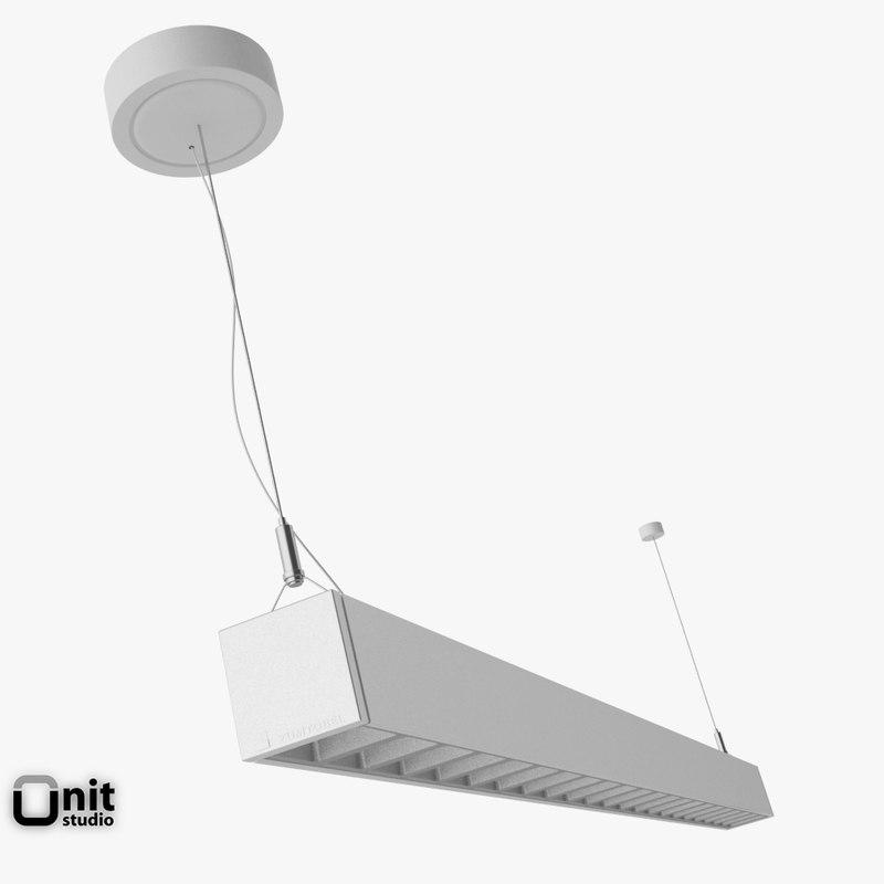 3d model photometric lincor pendant light