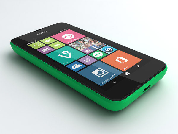 nokia lumia 530 mobile phone 3d 3ds