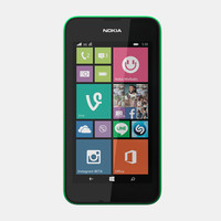 nokia lumia 530 mobile phone 3d 3ds