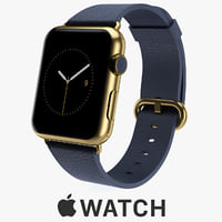 apple watch edition 42mm 3d max