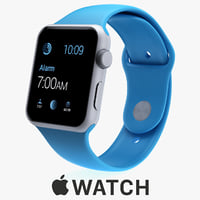 apple watch sport 42mm 3d 3ds