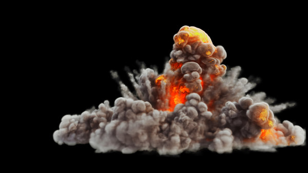 fumefx explosion asset 3d max