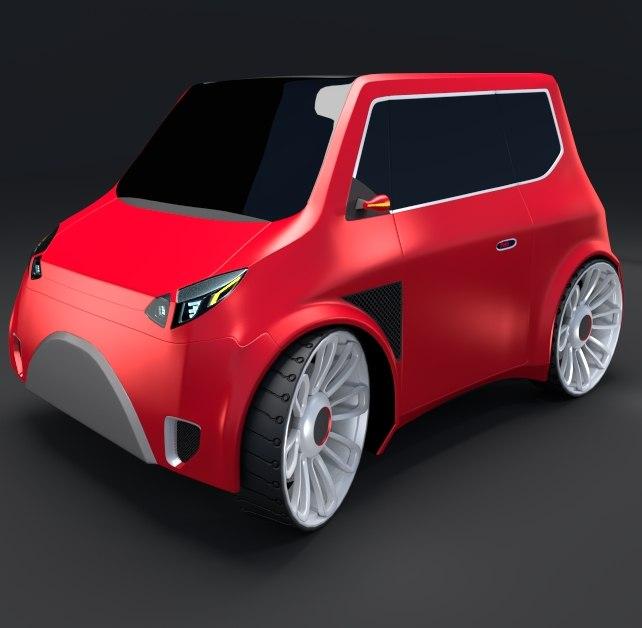 3d compact car 8