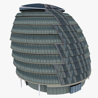 3d london city hall
