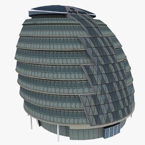 3d london city hall