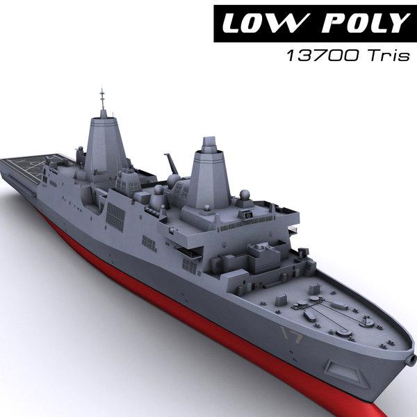 lpd 17 3d model