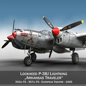 c4d lockheed lightning - arkansas