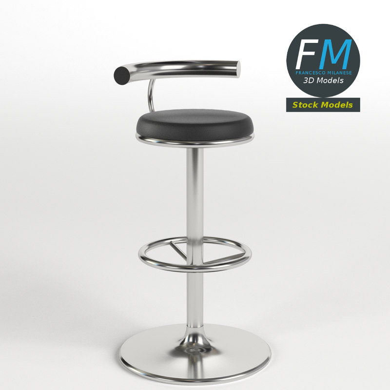 bar stool 3 3d max