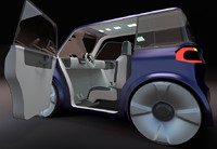 Compact electric concept car 9 v2