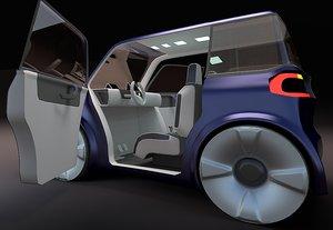 concept car compact 3ds