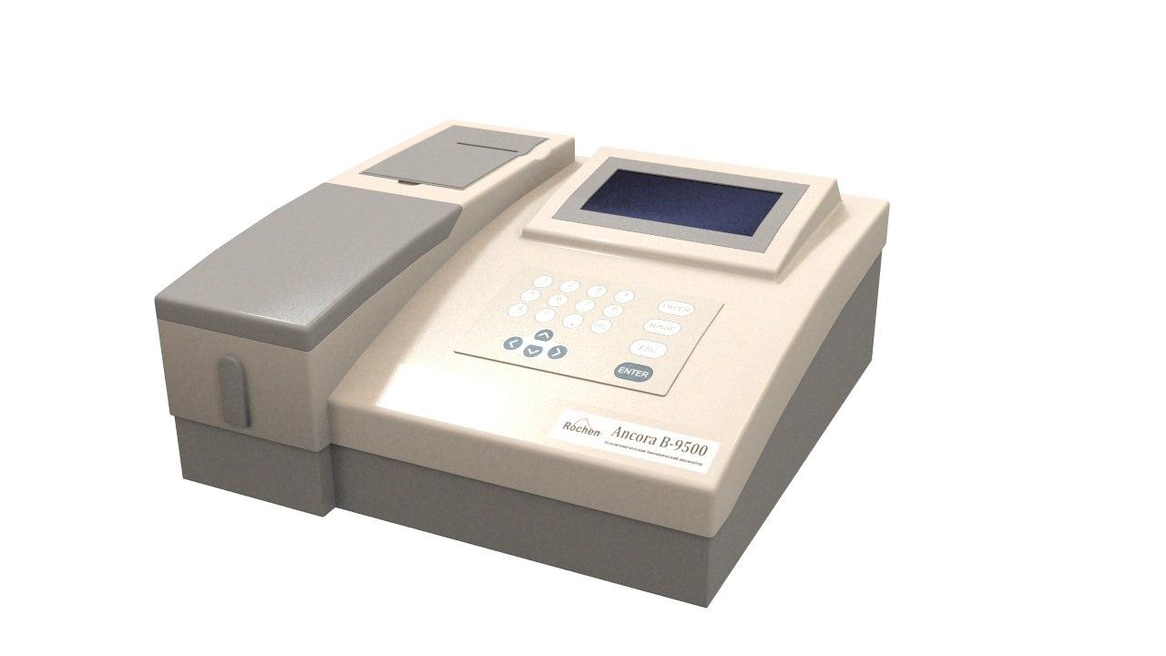 spectrophotometer ancora b 9500 3d model