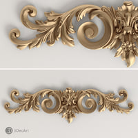 3d decorative onlay model