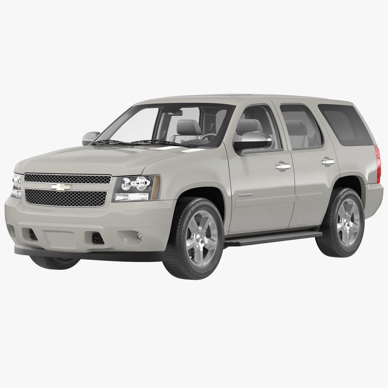 3d model chevrolet tahoe 2014