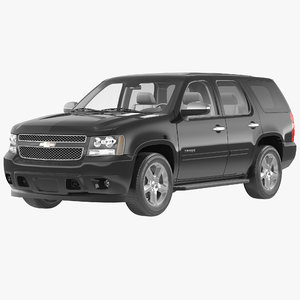 3ds max chevrolet tahoe 2014 simple