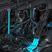 Sci-Fi Interior