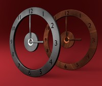 3d 3ds designed generic clock types