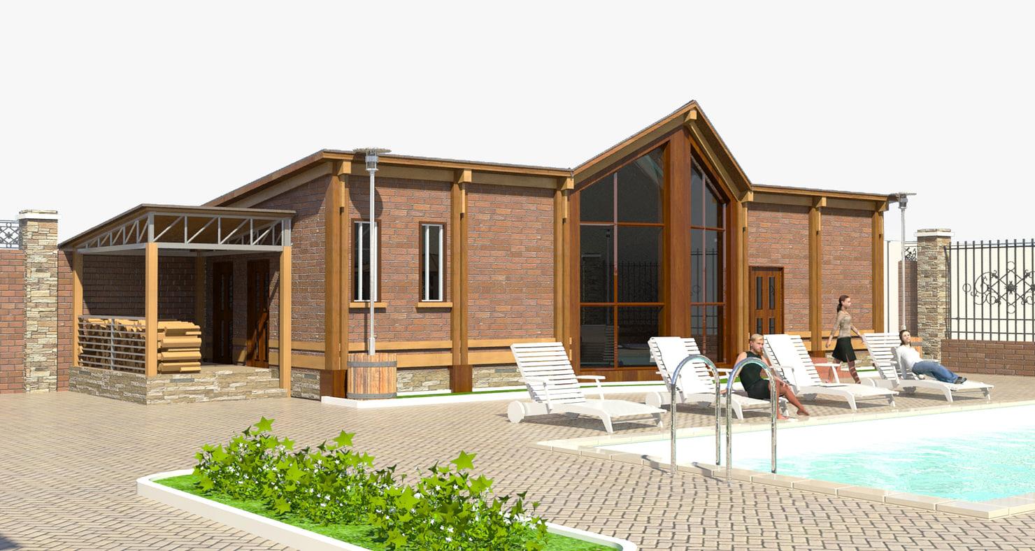 sauna swimming pool max