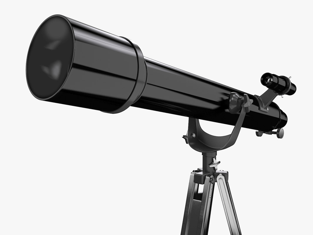 3d model telescope omni