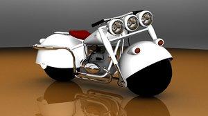 moto motorcycle 3d model