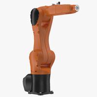 3d generic industrial robot