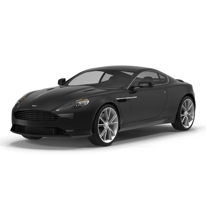 Aston Martin Db9: 3d 3ds Aston Martin Db9 2014