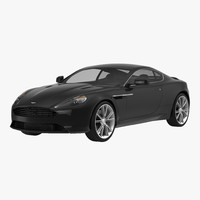 3d 3ds aston martin db9 2014