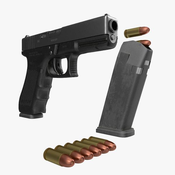 3d glock 17 semi automatic