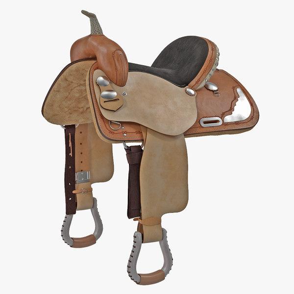 3ds barrel saddle 5