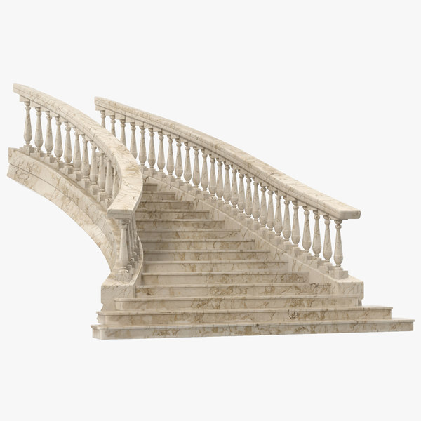 3d model stairs 2