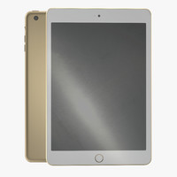 ipad mini 3 gold c4d