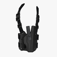 Tactical Leg Pistol Holster 2