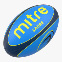 3dsmax rugby ball mitre 2