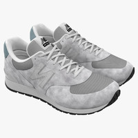 sneakers 5 white c4d