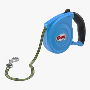 max retractable dog leash flexi