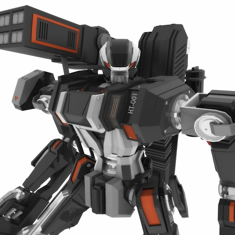 Robot_HT-001 (Heavy Mode)