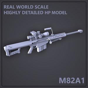 Barrett M82A1 Sniper Rifle