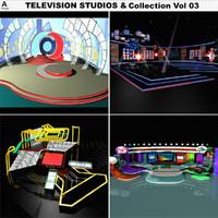 television studios vol 03 3d max