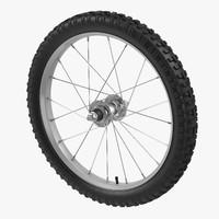 bike tire 3d model