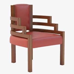 Arizona Biltmore Hotel Chair Highback