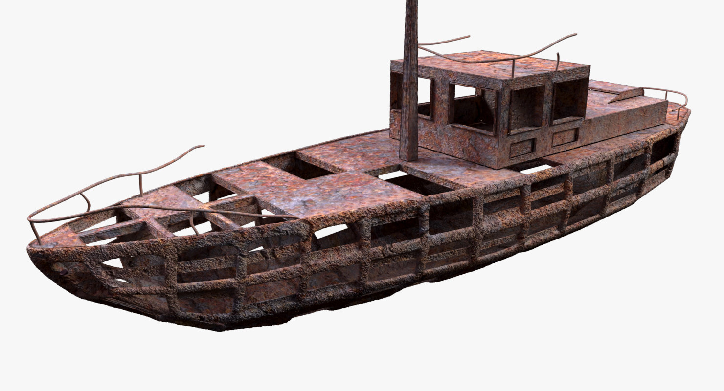 3d wreck model
