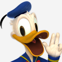 3ds max donald duck