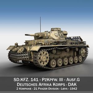 iii - ausf g 3d c4d