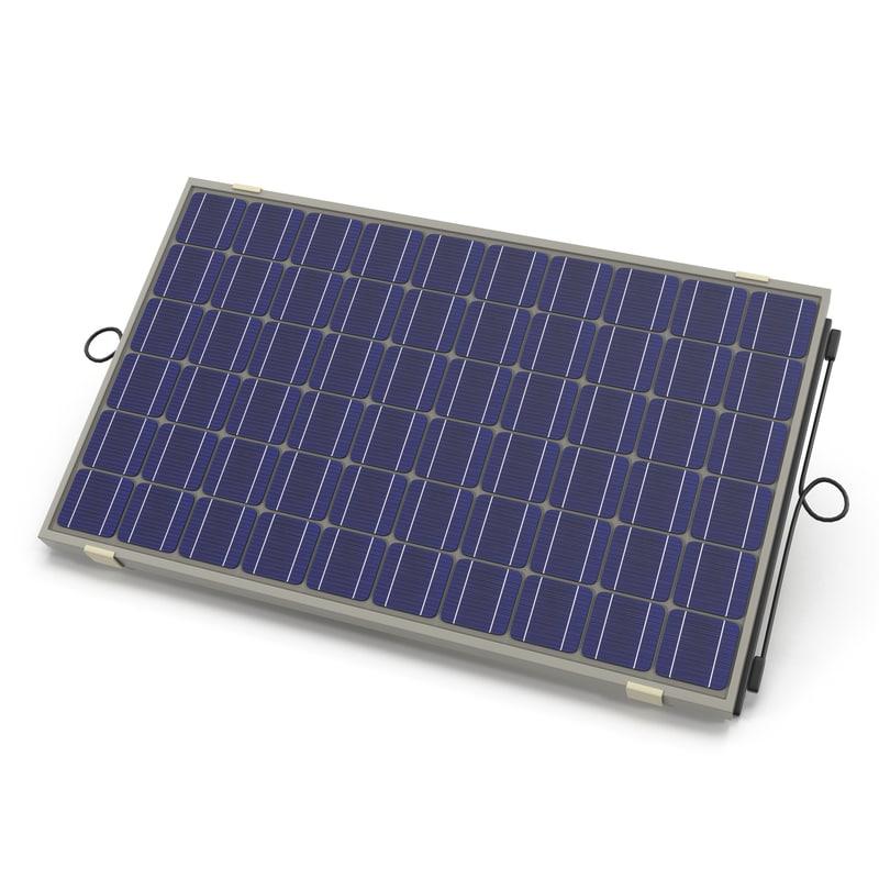 solar panel 2 obj