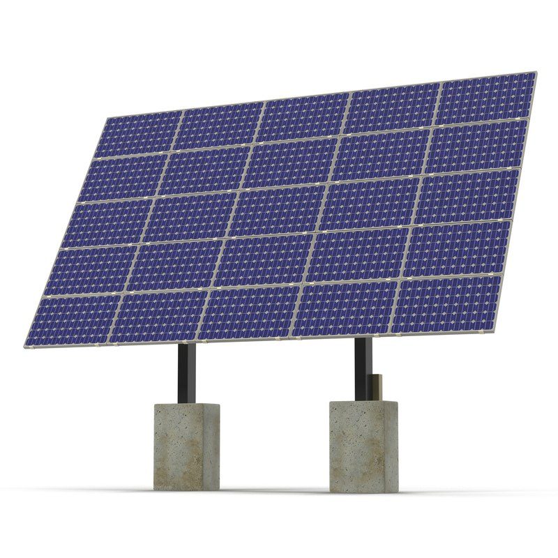 solar cell 3ds