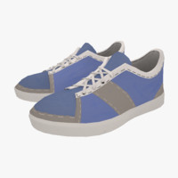 Sneakers Low Poly